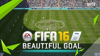 FIFA 16 - FIFAVN Goal - Anthony Martial Finnese Shot, EA Games, video games