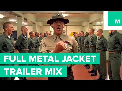 Full Metal Jacket as a Wes Anderson Movie