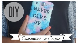 ☀️ DIY CUSTOMISER SA COQUE ☀️ - YouTube