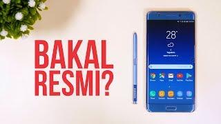Video Samsung Galaxy Note FE - Kapan RESMI? MP3, 3GP, MP4, WEBM, AVI, FLV November 2017