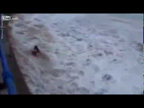 Woman Taunts Mother Nature, Mother Nature Answers