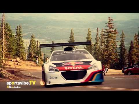 Sébastien Loeb & His Peugeot Sport Car Take On The Pikes Peak Hill Climb