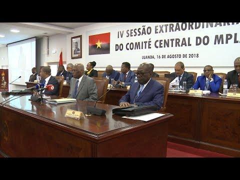MPLA incentiva João Lourenço a prosseguir no crescimento do país