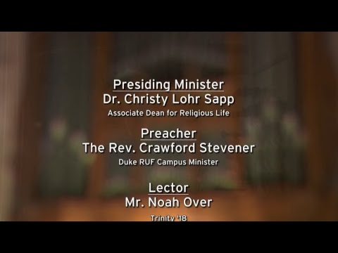 Ash Wednesday Worship Service 2/14/18
