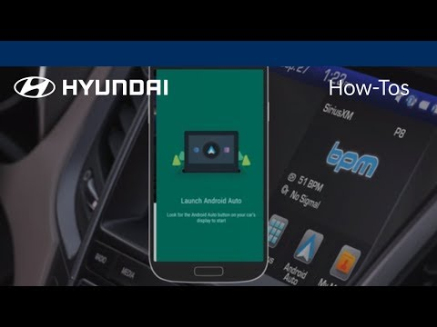 How to Connect and Use Android Auto | Hyundai How-To | Hyundai