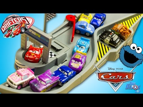 download disney cars micro drifters piste folle flash mcqueen jouet toy review juguetes mini. Black Bedroom Furniture Sets. Home Design Ideas