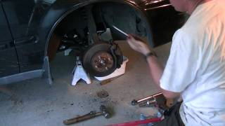 Axle replacement on a 1997 Honda Civic. Looks like the civic is similar for the 1996, 1997, 1998, 1999 and 2000 model years - Sixth generation - EX, DX, LX, HX, CX, GX and Si. Axle removal and replace
