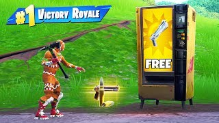 Free Vending Machine *ONLY* Challenge
