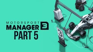 Motorsport Manager 3 Gameplay Walkthrough Part 5 - EUROPEAN CHAMPIONSHIP - SURPRISE WIN ???
