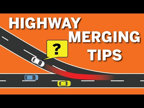 HIGHWAY MERGING TIPS: How to MERGE onto HIGHWAY || Toronto Drivers