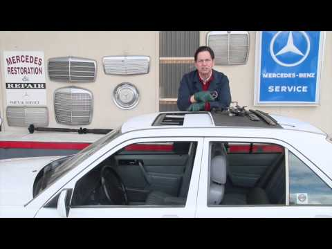Can You Fix Your Power Sunroof? How-to Video Manuals Available at Mercedessource.com