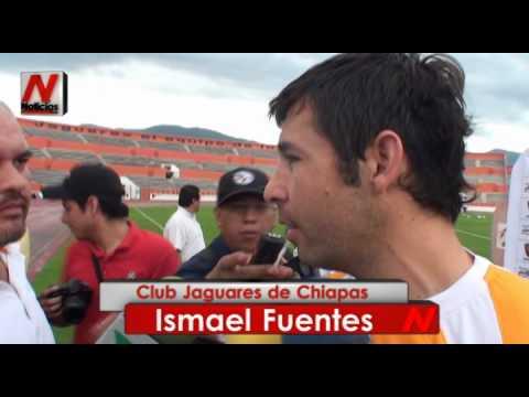 Presentación de Ismael Fuentes como parte de los Jaguares de Chiapas