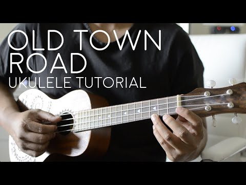 Old Town Road by Lil Nas X - Ukulele Tutorial