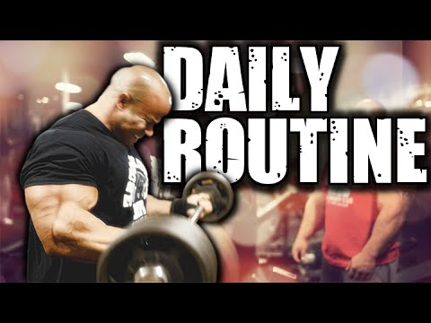 Daily Routine – BODYBUILDING MOTIVATION [GetBigNow] ᴴᴰ