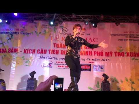 Lâm Chấn Khang hài hước tại hội chợ Mỹ Tho (29-1-2015) phần 1