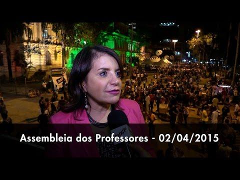 Assembleia dos Professores 02/04/2015