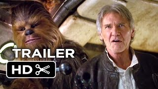 Star Wars  The Force Awakens Official Teaser Trailer  2  2015    Star Wars Movie Hd