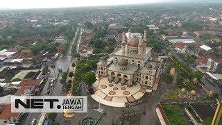 Ini nih, Icon Baru Kabupaten Klaten, Masjid Al-Aqsa Yang Jadi Kebanggaan Warga Klaten - NET JATENG