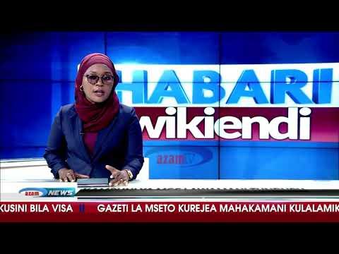 HABARI WIKIENDI AZAM TV        22/7/2018