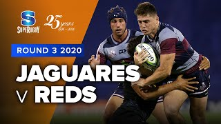 Jaguares v Reds Rd.3 2020 Super rugby video highlights | Super Rugby Video Highlights