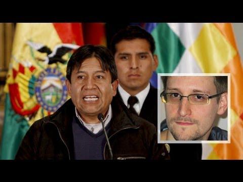 Bolivia's President Forced to Land Plane Under Suspicion Snowden On Board
