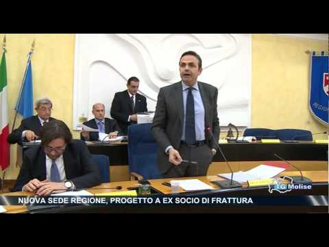 Nuova sede della Regione: progetto all'ex socio di Paolo Frattura