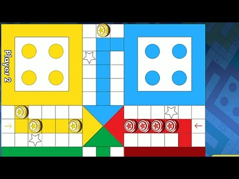 Ludo game in 2 players   Ludo King 2 players   Ludo gameplay #133