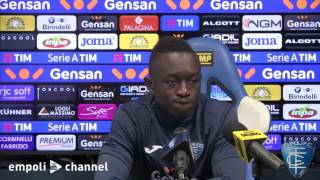 Preview video Assane Diousse in conferenza stampa
