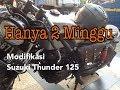 Video Modifikasi Suzuki Thunder 125cc Bobber Japstyle - Pengerjaan cukup dirumah.