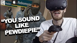 Meeting fans in VR!