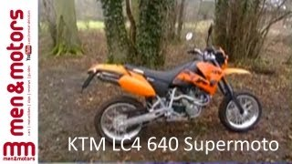 8. KTM LC4 640 Supermoto Review (2003)