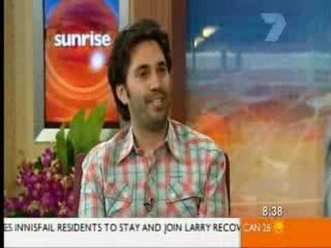 Crazy Man on Live News