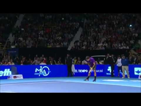 The Crowd Goes Crazy After Federer's Insane Tennis (HD)