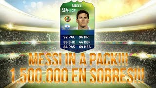 MESSI IN A PACK!!!! | PACK OPENING FIFA ULTIMATE TEAM WORLD CUP