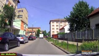 Driving in Timişoara:  Str. Apateu - Bd. Corneliu Coposu. (Timelapse 2x)