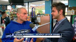 Wednesday night's Powerball jackpot sits at roughly $700-million. The odds of winning are one in 292 million. But that's not ...
