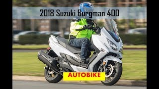 3. 2018 Suzuki Burgman 400 ABS Review Fast Facts
