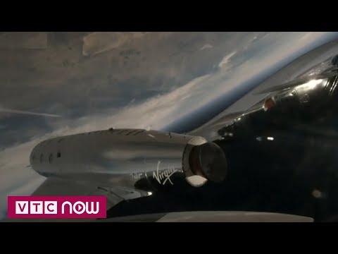 Tàu vũ trụ chở khách thử thành công chuyến đầu | VTC1 - Thời lượng: 76 giây.