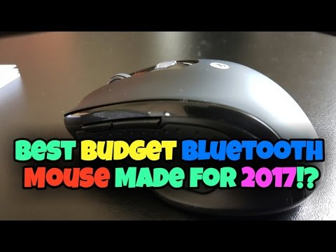 Best BUDGET Mouse for 2017! | JETech M0884 Bluetooth Mouse | Unboxing & Setup