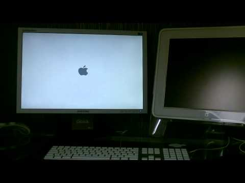 Hackintosh mac osx Lion (видео)