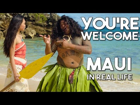 """Maui's You're Welcome from Disney's Moana/Vaiana 