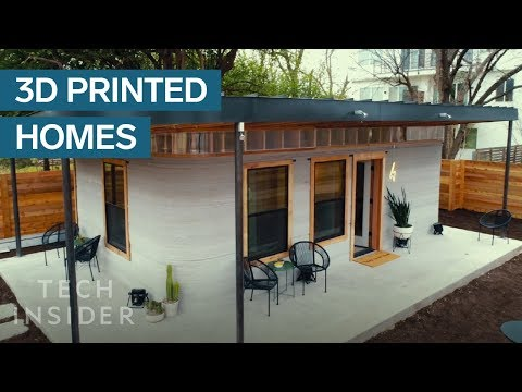 3D-Printed Home Can Be Constructed For Under $4,000 (видео)