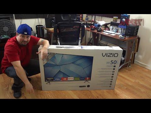 Vizio M50-C1 4K Ultra HD Smart TV (Unboxing) in 1080p