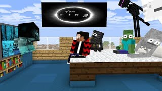 Monster School : THE RING MOVIE CHALLENGE - Minecraft Animation 2019