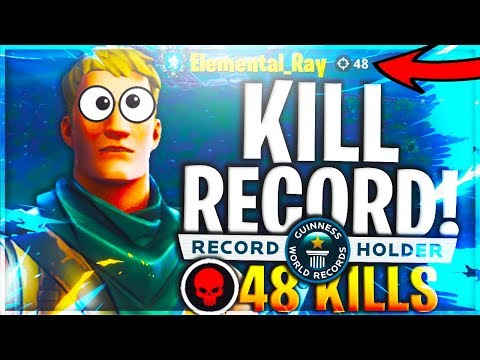 48 Kill Solo World Record | Most Kills In Fortnite History! - Fortnite Battle Royale (luckiest Noob)