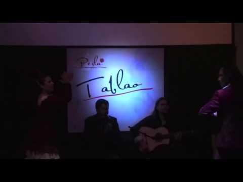 Miguel Alonso (Cuba) no Tablao Perla Flamenca