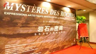Mystery of Rocks Exhibition Opens in Paris