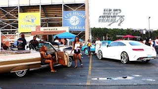Video WhipAddict: JuneFest 2k18 Car Show, Huntsville, AL: Custom Cars, Big Rims, Ladies MP3, 3GP, MP4, WEBM, AVI, FLV April 2019