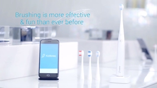 Kolibree Connected Toothbrush.what if artificial intelligence could change people's brushing behavior ?This toothbrush brushing habits are recorded inside toothbrush.