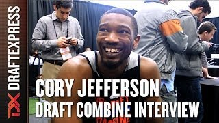 Cory Jefferson Draft Combine Interview